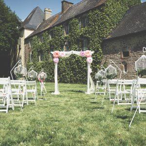 arche blanche location mariage Finistère