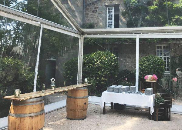 buffet rustique location mariage finistère