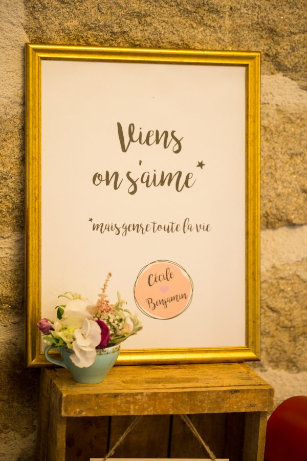 Affiche mariage Finistère