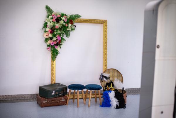 location cadre doré mariage finistère
