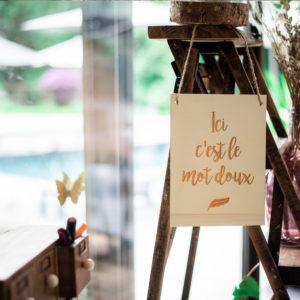 Location panneau en bois mariage finistère