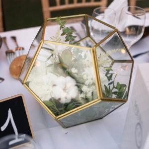 location vase terrarium mariage finistère