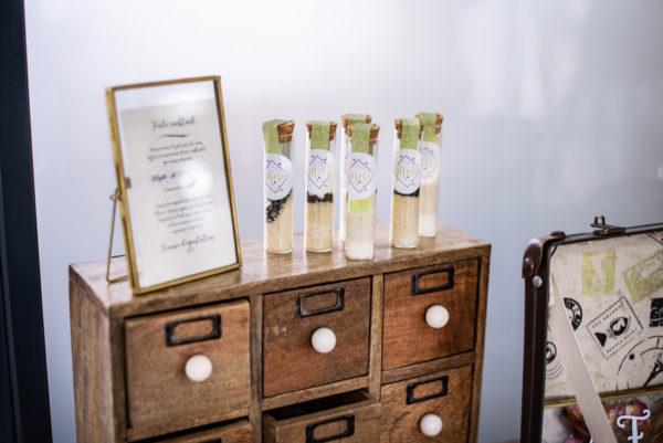 Souvenirs invités cocktail