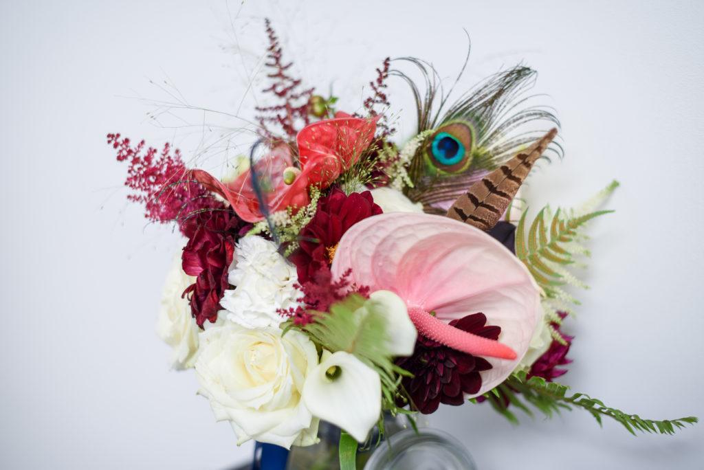 Bouquet de mariée Finistère